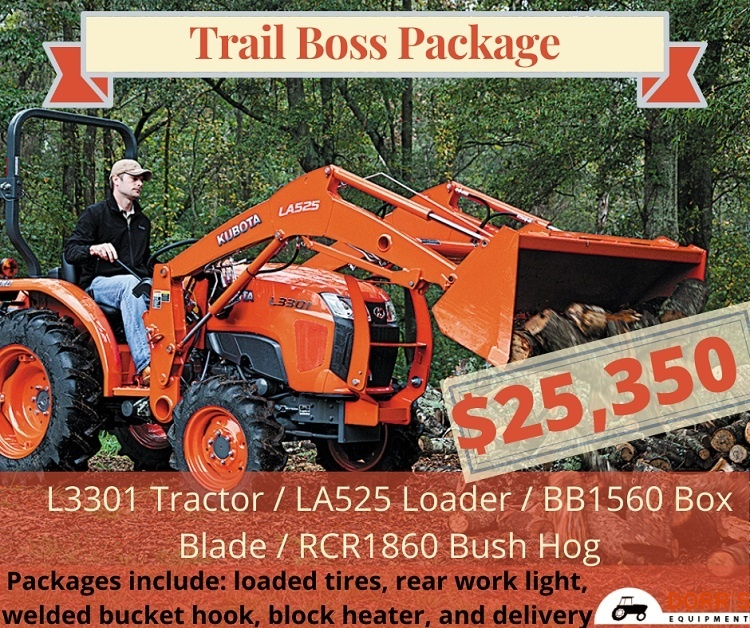 Trail Boss Package